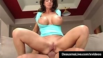 In Debt Cougar Deauxma Fucks Hard Cock Bookie To Repay Bet!