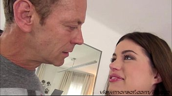 Flawless Aprils tight pussy gets banged by Italian director