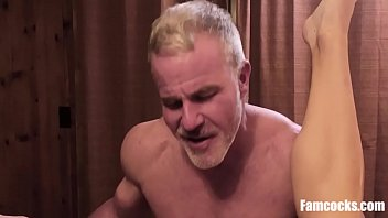 Old gay porn titled hunk Son is dads personal bitch