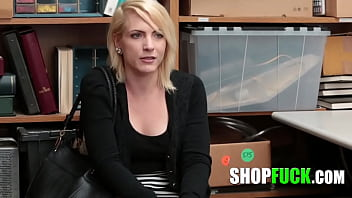 Smart Thief Hid Stolen Goods In Her Bra But A Skilled Cop Knows All The Tricks - SHOPFUCK