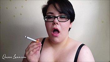 BBW Chainsmoking Topless