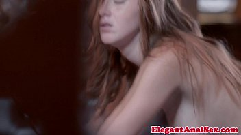 Gorgeous redhead facialized after assfucking thumbnail