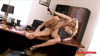 Babesalicious - Donna Bell Hard Fuck In The Office W/ Anal