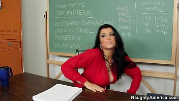 Naughty America - Find Your Fantasy Teacher Romi Rain fucking in the chair with her tits porno izle