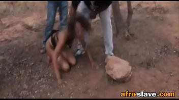 African sex slave eats actual dirt
