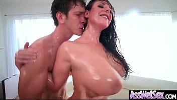 Anal Hardcore Sex Tape With Slut Big Curvy Ass Girl (Angela White) vid-09
