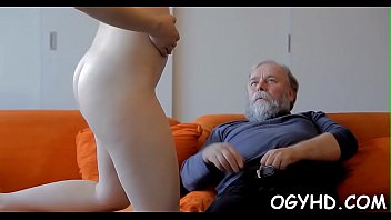 Old women sex free - Horny young babe screwed by old lad