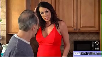 Hardcore Sex Scene With Busty Housewife (Reagan Foxx) clip-22