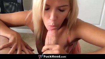 Stunning Amateur Blonde Teen Spreads Pussy For A Big Dick thumbnail
