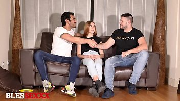 My friend bet his girlfriend and I enjoyed her - Paola Hard & Magic Javi & Lucio Saints