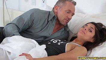 Step dad railing Katya Rodriguez pussy