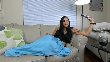 Amateur Cock addicted Jolla begs for dick gets fucked hard on the couch
