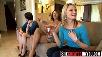 20 Hot rich milfs throw secret cfnm orgy.46