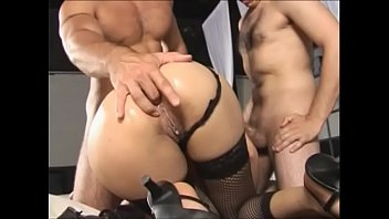 Slutty brazilian milf slammed by two younger boys Vol. 4