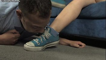 Sneaker and Sock Foot Worship