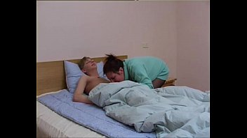 Russian Mature Bella With Young Boy