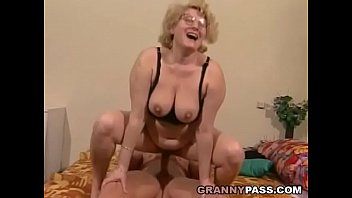 Cellulite mature old women bbw - Muscular young guy fucks a fat granny