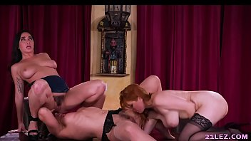 Naughty lesbian housewives porn Naughty lesbian threesome with penny pax, karlee grey and sinn sage - girlsway