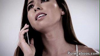 Forbidden babe fucked by horny intruder