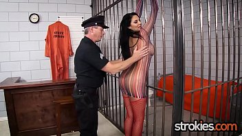 Missy Martinez arrested and jerks cops cock with cumshot on her big tits porno izle