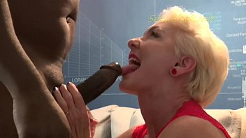 Slut cougar Seka likes it when her interracial master visits