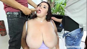 Chubby single ladies - Bbw milf fucked by 2 young studs