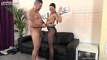 Big guy show her muscle cock to pornstar Mea Melone