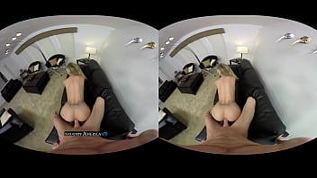 VR Pornstar Jessa Rhodes gives you a shot - Naughty-America VR