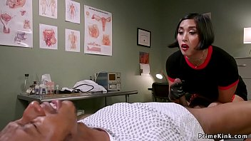 Free milf ass dom Asian dom doctor strokes black slaves dick