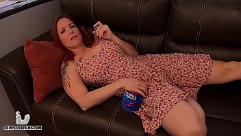 Stoner Mom Truth or Dare with Stepson - Shiny Cock Films