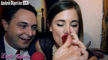 Little Caprice gives a blowjob lesson for Andrea Diprè thumbnail