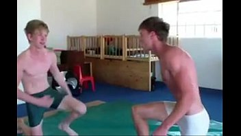 Wrestling naked teen boys - Ferdi vs daniel wrestling