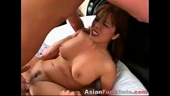 Threesome with Asian Fujiko Kano