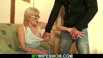 Horny granny pantyhose Horny old mother-in-law
