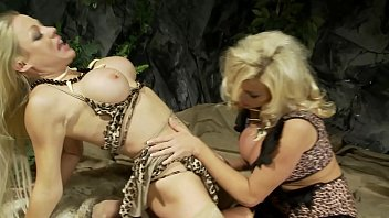 There were Big Tits Blonde MILF Lebians even in Prehistoric Age loved sex