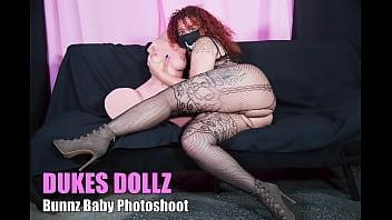 Big Booty Latina Dukes Dollz photoshoot