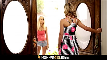 Mom Seduces Daughter's Hot Best Friend