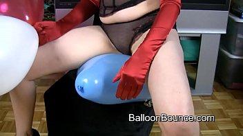 Heather balloon bounce