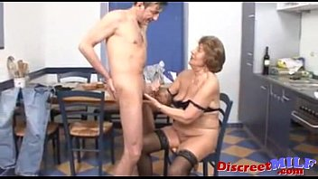 Old skinny granny hard sex 02