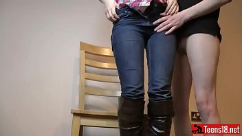 Homemade Stunning Clip Teen Fucked on a Chair