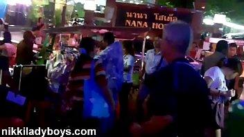 Thailand escort shemale Walking street with ladyboys working in nana plaza bangkok