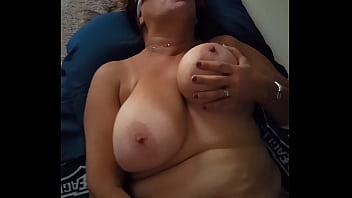 Check out my wife. Wants cum on her tits.
