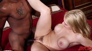 Sarah Vandella Sucks Black Cock