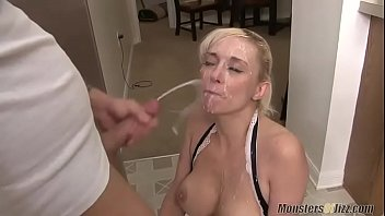 Mom gets Cum Shower