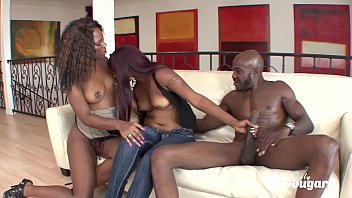 Coffee Brown & Natalie Evans Share Some Black Daddy Dick