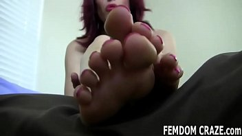 You have to earn the privilege of worshiping my feet