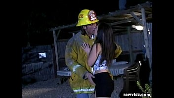 Fireman having sex - Emergency cock