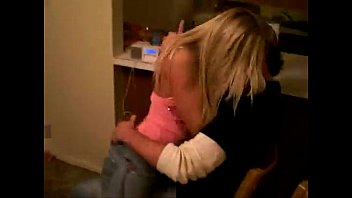 Hot Little Blonde Grinding On Her Boyfriend