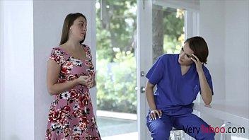 Hot Nurse Sister Takes Care Of Brother's Blue Balls- Natalie Porkman thumbnail