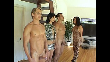 Free porn bailey lane 2 hard cocks take on 2 sluts with nice racks